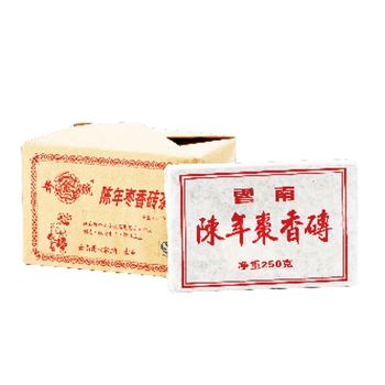 【普金號】上赫茶坊棗香普洱茶磚禮盒組