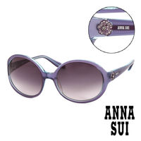 Anna Sui 安娜蘇 金鑽 立體精雕 太陽眼鏡 ^#40 藍紫 ^#41 AS6420