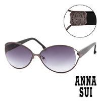 Anna Sui 安娜蘇 復古 金屬雕刻 太陽眼鏡 ^#40 黑 ^#41 AS64701