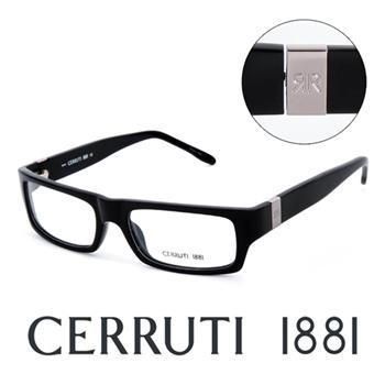 CERRUTI 1881 義大利頂級簡約時尚造型平光眼鏡