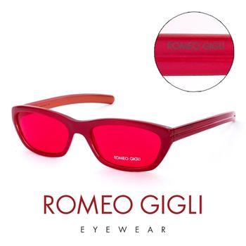 Romeo Gigli 義大利 復古時尚大膽紅造型太陽眼鏡(紅)