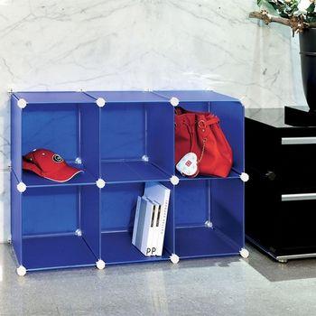 ikloo-6格收納櫃-12吋百變收納櫃/組合櫃