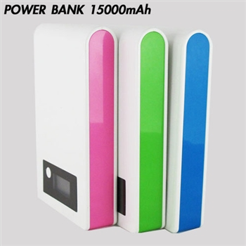 POWER BANK電量顯示15000mAh 行動電源