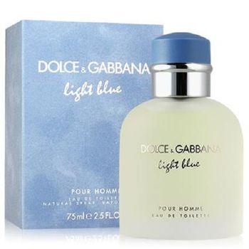 D&G Light Blue 淺藍男性淡香水 75ml