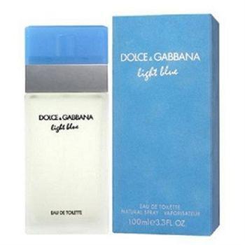 D&G Light Blue 淺藍女性淡香水 100ml