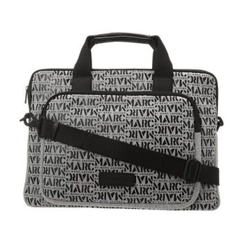 Marc Jacobs 2014時尚字母灰色標誌15吋電腦包