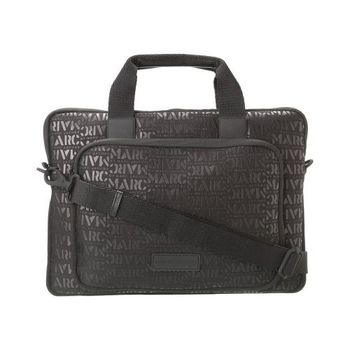 Marc Jacobs 2014時尚字母黑色標誌15吋電腦包
