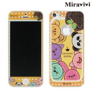 Miravivi iPhone 5 /5S動物狂想曲雙面彩繪保護貼