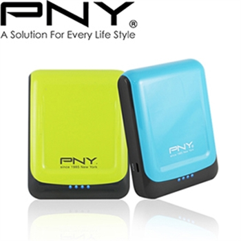 PNY必恩威 78S 7800mAh 運動風格行動電源