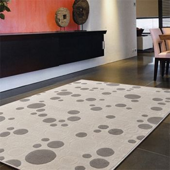 【Ambience】比利時Cosiline 超柔細雕花毯-圓點