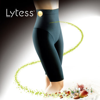 【Lytess法國原裝】 神奇內搭 纖體高腰無痕塑身5分褲
