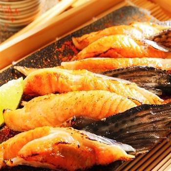 【華得水產】鮭魚下巴8件組(1kg/包)