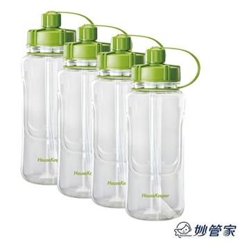 妙管家 4入吸嘴太空瓶1500ml HKT-7065