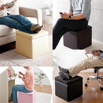 C&B 小叮噹百寶箱收納椅凳