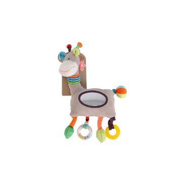 【比利時Nicotoy】可愛長頸鹿手搖鈴陪伴玩具