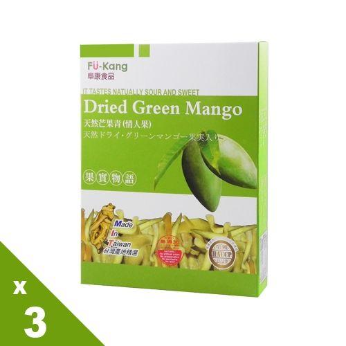 【果實物語】 芒果青果乾3盒組