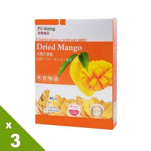 【果實物語】芒果果乾3盒組