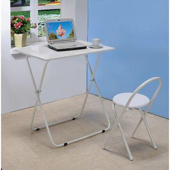 CB 生活家和風摺疊桌椅組(一桌 + 一椅)