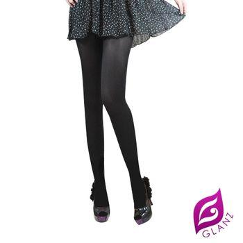 GLANZ 格藍絲 台灣製 美麗秘密全透明防勾纖腿絲襪-誘惑黑