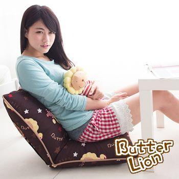 【奶油獅】台灣製造-和室房必購-可拆洗搖滾星星胖胖和室椅(三色)