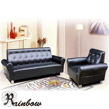 【RB】晶點風采獨立筒沙發-1+3人座(5色可選)