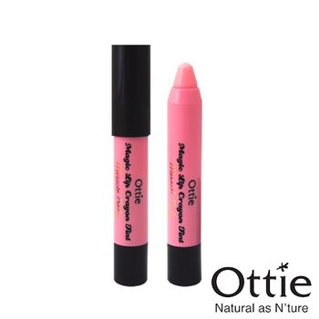 Ottie【紫魅彩妝系列】愛玩色魔法唇彩蠟筆 #01 夢幻粉