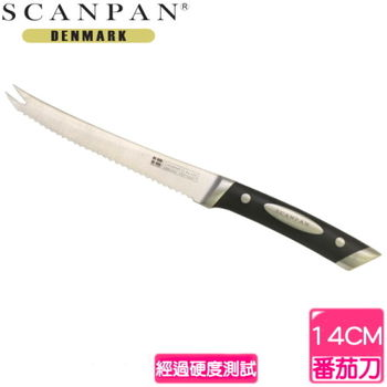 丹麥SCANPAN蕃茄/起司兩用刀(14公分)SC9208