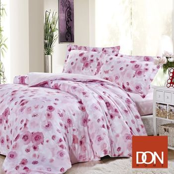 【DON】依娜蝴蝶 特大四件式天絲兩用被床包組