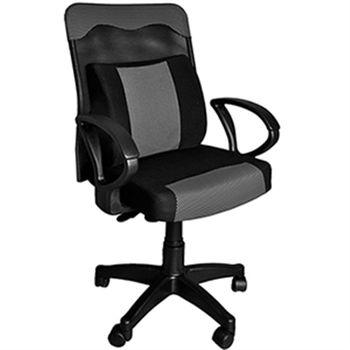 【凱堡】 蘭陵王透氣網背電腦椅(PU大護腰枕)