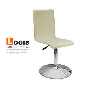 【LOGIS】優質馬鞍皮革事務椅/電腦椅/吧台椅(4色)
