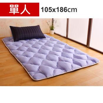 【HB】雙面機能羊毛保暖收納睡墊+枕套(星際之旅-單人)