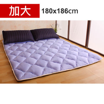 【HB】雙面機能羊毛保暖收納睡墊+枕套(星際之旅-加大)