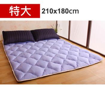 【HB】雙面機能羊毛保暖收納睡墊+枕套(星際之旅-特大)