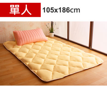 【HB】雙面機能羊毛保暖收納睡墊+枕套(草莓起司-單人)