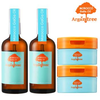 Morocco GaGa Oil 摩洛哥秀髮油2+髮膜2