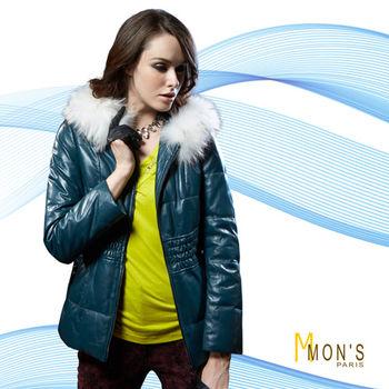 di marzia白貉毛細致羊皮外套