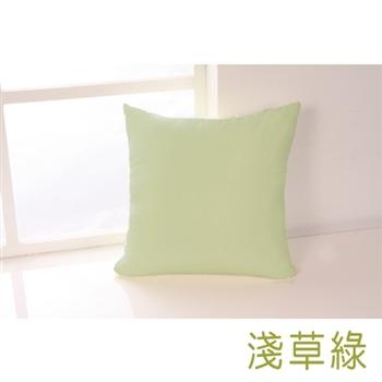 【HomeBeauty】馬卡龍色系抱枕-淺草綠