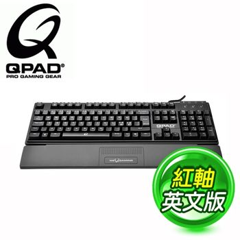 QPAD MK50 紅軸 英文 機械式鍵盤