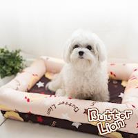 ~奶油獅~MIT搖滾星星寵物記憶床墊 大型 10-25kg 2色