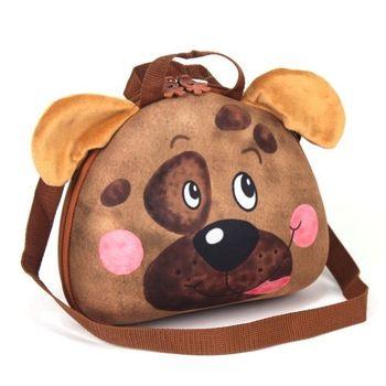 【德國okiedog】兒童3D動物造型餐具盒袋(狗)