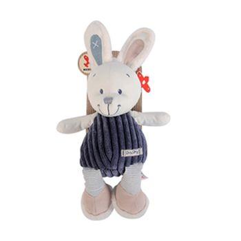 【比利時Nicotoy】寶貝兔絨布玩偶