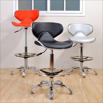 《DFhouse》摩登時尚升降吧台椅(三色)