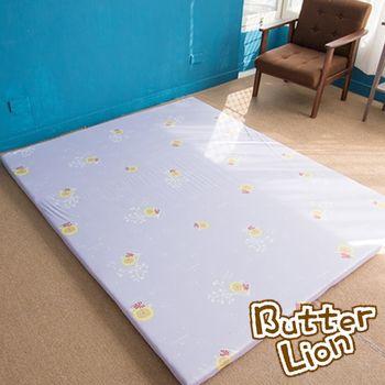 【奶油獅】葉語純棉紙纖三合一記憶床墊-雙人5尺(3色)