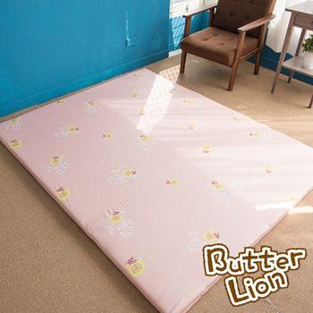 【奶油獅】葉語純棉紙纖三合一記憶床墊-6尺(3色)