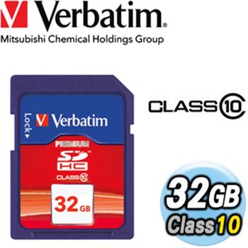 Verbatim威寶Class10 32GB SDHC 記憶卡