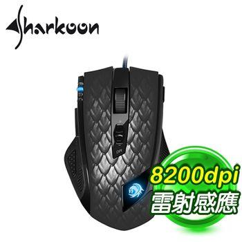 Sharkoon 馭龍者-進階版8200dpi 電競鼠