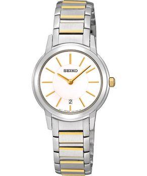 SEIKO 都會簡約石英女錶-半金 7N89-0AX0KS