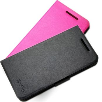 KooPin HTC Desire 700 璀璨星光立架式側掀皮套