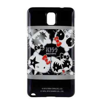 【KISS HELLO KITTY 】Note3 保護套搖滾KIS