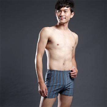 【藍伯特男士精品內褲】寬口平口褲(三件入)